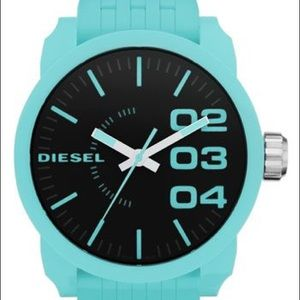Diesel watch in seafoam
